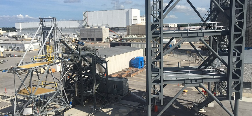 Image of the launch equipment testing facility.