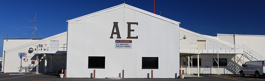 Hangar AE Control Center, located at Cape Canaveral Air Force Station (CCAFS)