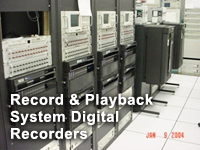 3.5 Telemetry Monitoring / Advisory - Record and Playback System Digital Recorders