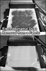 5.2 Materials for Life Cycle Optimization - Electrodynamic Dust Removal from a Frabic