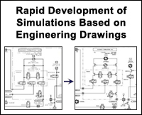 3.2 Simulation Systems / Model Development - Rapid Development of Simulations based on Engineering Drawings